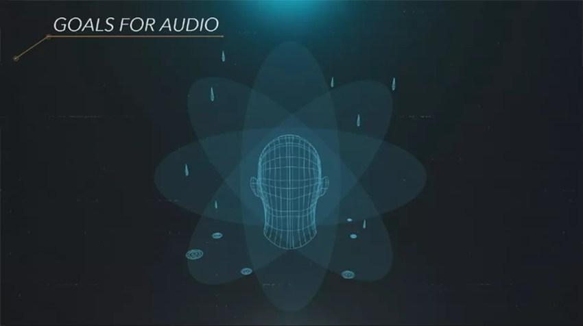 A tecnologia Tempest 3D Audio Tech do PS5 pretende trazer um novo nível de imersão através do som — Foto: Reprodução/PlayStation