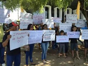 Técnicos exigem que PCCR seja encaminhado para a ALE-RR (Foto: Inaê Brandão/G1 RR)