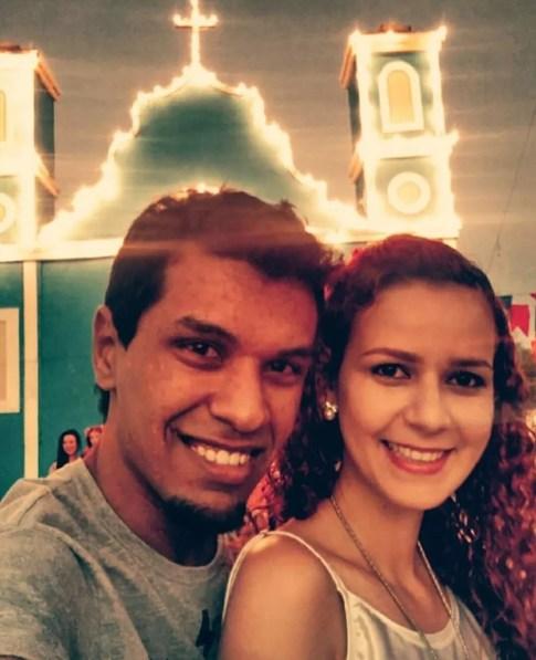 Juntos deste 2009, Jadson Carvalho e Geysiane Mello irão comemorar o Dia dos Namorados de uma forma especial (Foto: Jadson Carvalho/Arquivo Pessoal )