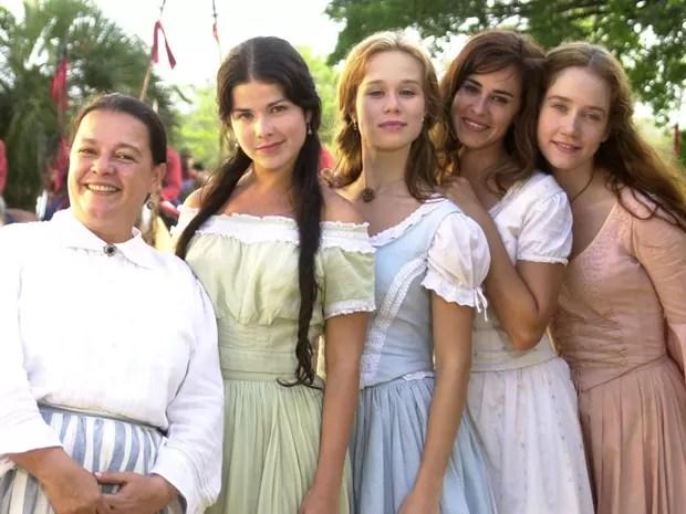 A Casa das Sete Mulheres (Foto: CEDOC/TV Globo)