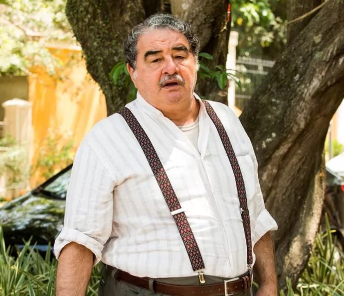 Otávio Augusto também integra o elenco de 'A Lei do Amor' (Foto: João Miguel Jr/TV Globo)