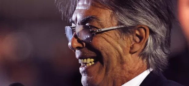 Massimo Moratti, presidente do Inter de Milão (Foto: Getty Images)