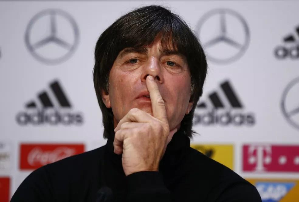 Joachim Löw, técnico da seleção da Alemanha (Foto: Reuters)