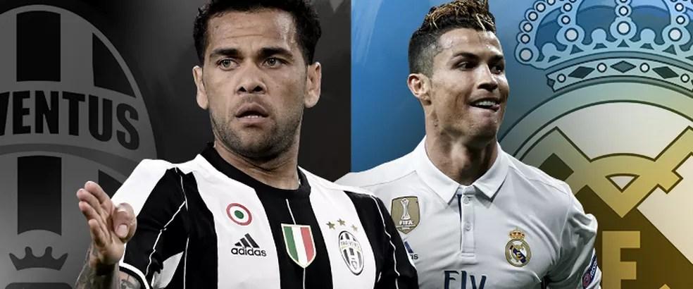 Juventus e Real Madrid são os finalistas da Liga dos Campeões da Europa (Foto: infoesporte)