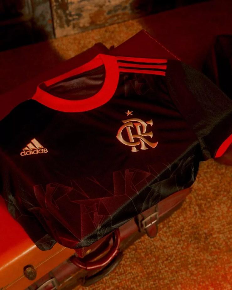 Nova camisa do Flamengo — Foto: Divulgação