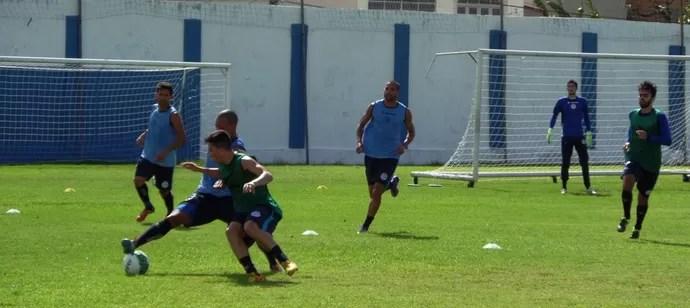 Confiança, treino, Sabino Ribeiro (Foto: Reprodução / ADC)