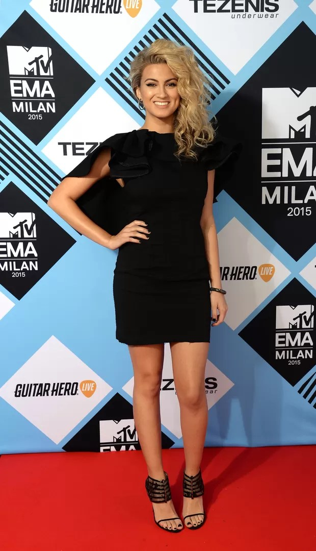 Tori Kelly no MTV EMA 2015 (Foto: Getty Images)