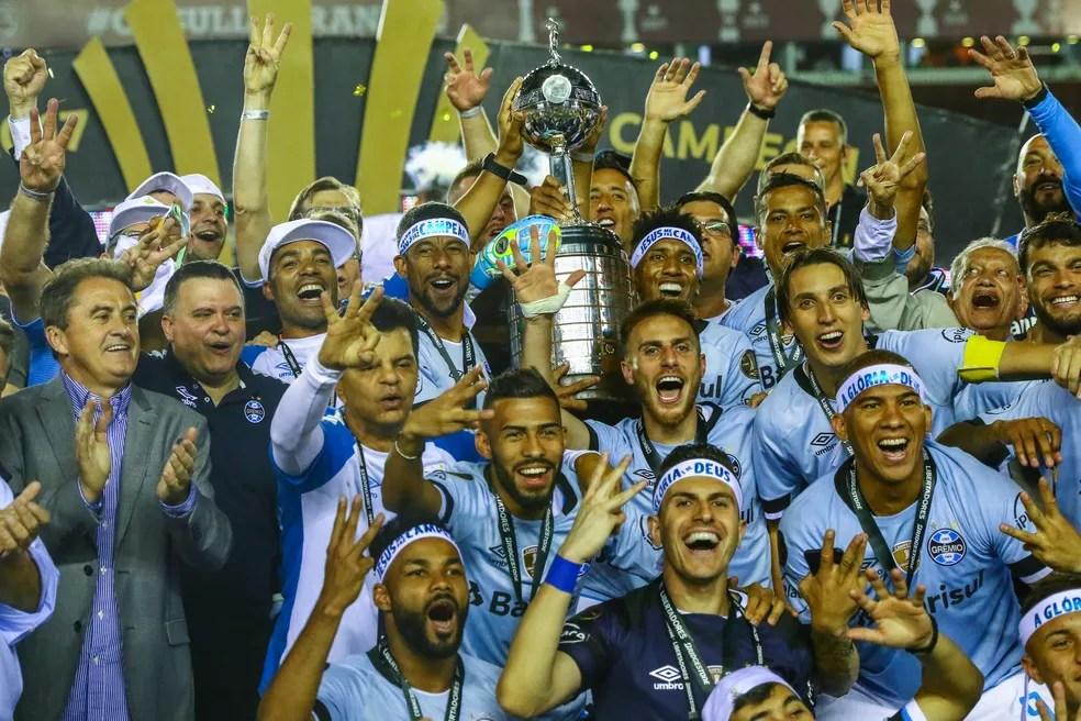 Grêmio tentará conquistar seu segundo título mundial (Foto: Lucas Uebel / Grêmio F.B.P.A.)