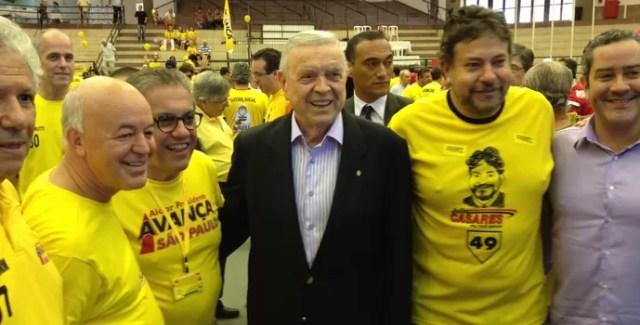 Marin na eleição do são paulo (Foto: Felipe Zito/GloboEsporte.com)