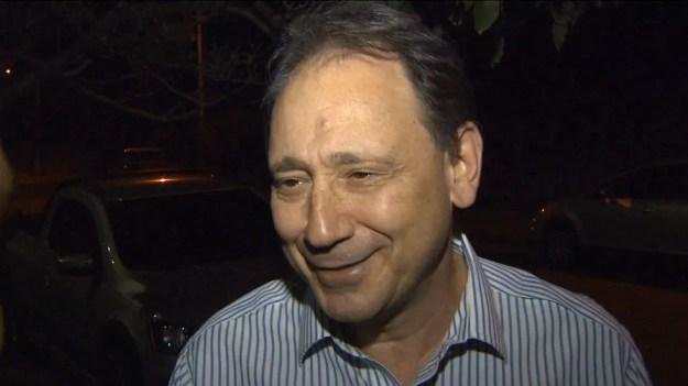 Luiz Abi Antoun era considerado foragido pelo Ministério Público Federal (MPF) — Foto: Reprodução GloboNews