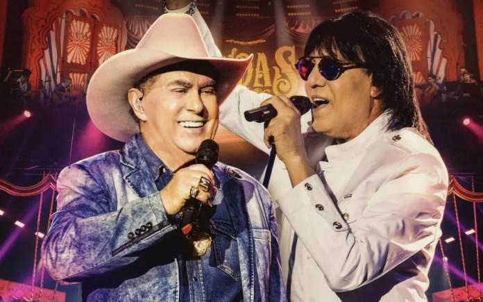 Cantores Milionário e Marciano encerram a Festa do Peão de Araras com o show 'Lendas' (Foto: Divulgação)