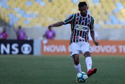 Gustavo Scarpa era alvo do São Paulo, mas deve ir ao Palmeiras (Foto: LUCAS MERÇON/FLUMINENSE F.C.)