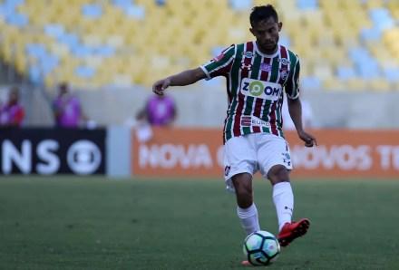 Gustavo Scarpa, Fluminense x Sport, Fluminense (Foto: LUCAS MERÇON/FLUMINENSE F.C.)