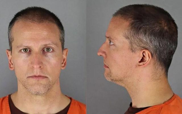 Derek Chauvin, acusado pela morte de George Floyd, em foto cedida pela prisão do Condado de Hennepin  — Foto: Handout/Hennepin County Jail/AFP