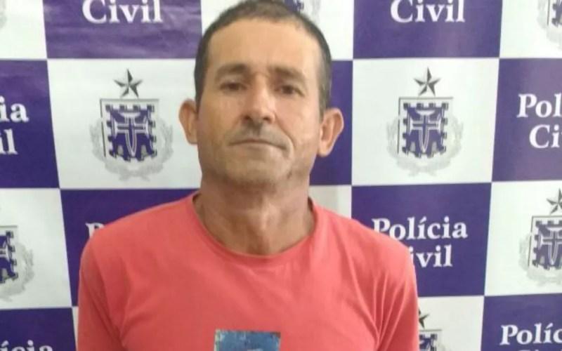 Suspeito foi preso em flagrante pelo assassinato da esposa (Foto: Divulgação/Polícia Civil)