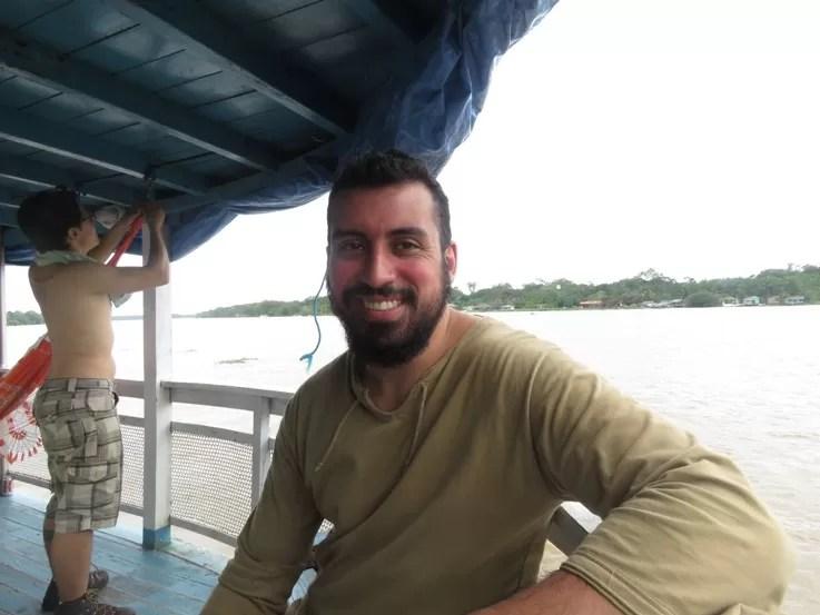 Tiago Martins, pesquisador entrevistado pela blogueira Amelia Gonzalez