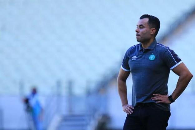 Jair Ventura segue sem vencer no comando da Chape — Foto: Marcio Cunha/ACF