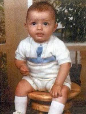 Cristiano Ronaldo criança (Foto: Arquivo Pessoal)