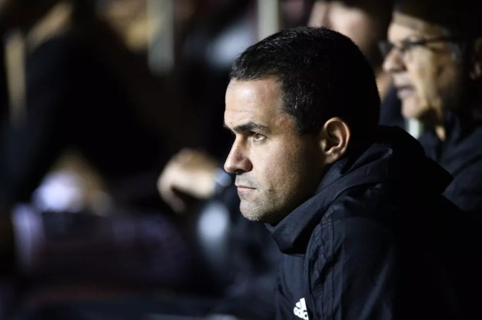 André Jardine não vai continuar como técnico do São Paulo — Foto: Marcos Ribolli