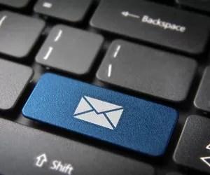 e-mail_marketing_correio eletroônico_digital_teclado_computador (Foto: Shutterstock)