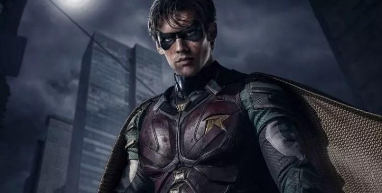 Robin em Titans (Foto: Divulgação)