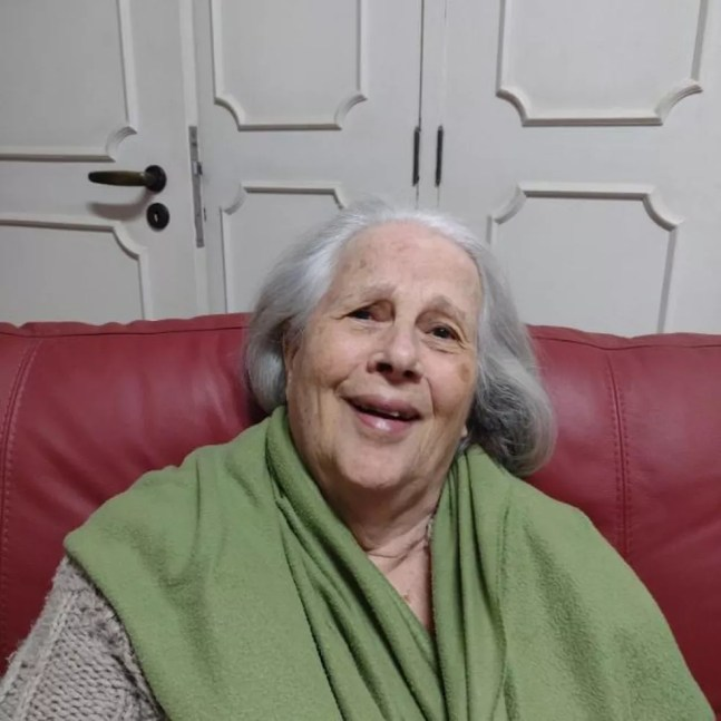 Nita Freire, 87 anos, educadora e viúva de Paulo Freire — Foto: Arquivo pessoal