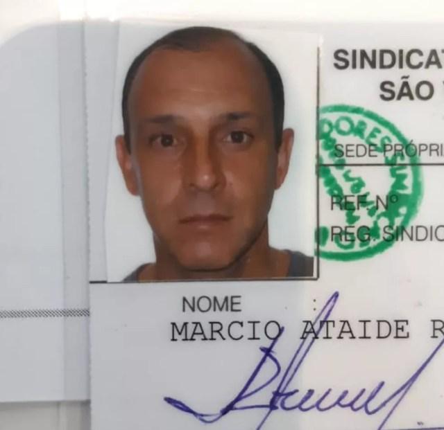 Márcio Ataíde Reis foi morto com um tiro de espingarda em Peruíbe, SP — Foto: G1 Santos
