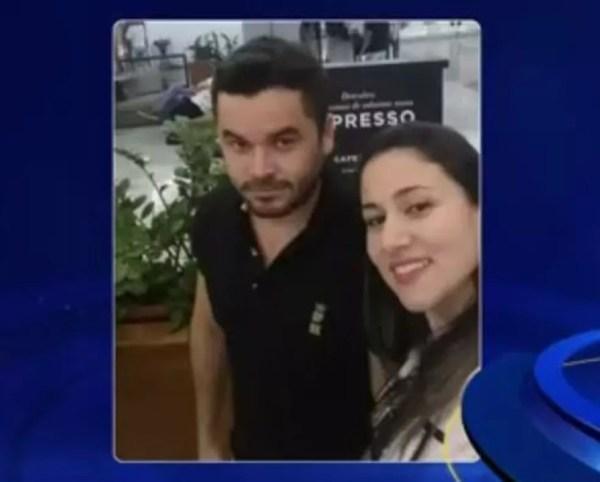Irmã e cunhado da ex-tesoureira de Jales (SP) foram presos (Foto: Reprodução/TV TEM/Arquivo)