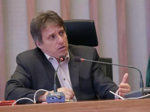 O ex-coodenador do Samu Rodrigo Caselli (Foto: Rogaciano Jose/Divulgação)