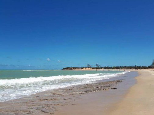 Praia de Tourinho, São Miguel do Gostoso - Rio Grande do Norte — Foto: Fernanda Zauli/G1