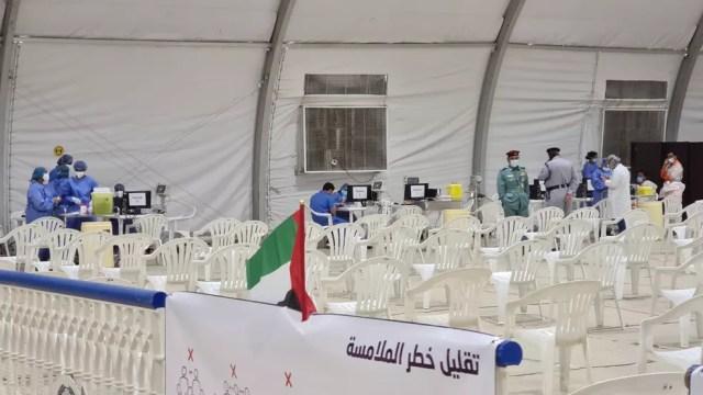 Imunizações em Dubai são agendadas e acontecem em centros de vacinação. — Foto: Scheyla Schley/Arquivo pessoal