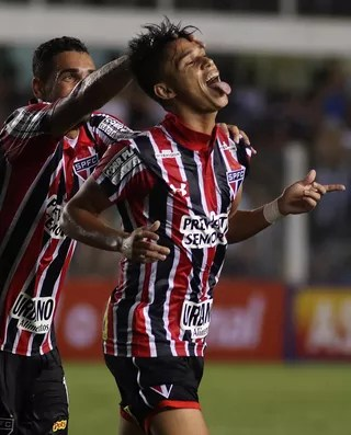 Luiz Araújo Santos x São Paulo (Foto: Futura Press)