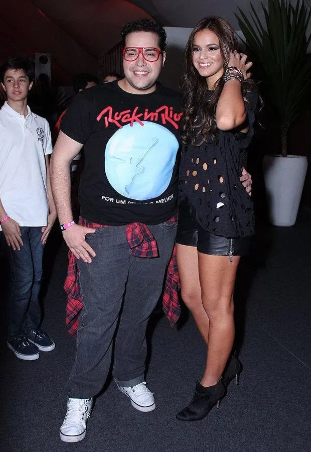 Tiago Abravanel e Bruna Marquezine (Foto: Alex Palarea/AgNews)
