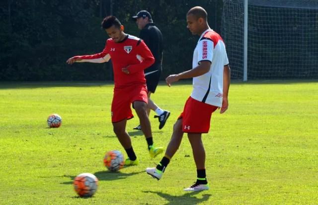 Carlinhos e Rogério São Paulo (Foto: Érico Leonan/saopaulofc.net)