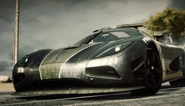 Imagem publicada no Facebook pela Electronic Arts sugere novo 'Need for Speed' para a nova geração de videogames (Foto: Divulgação/Electronic Arts)