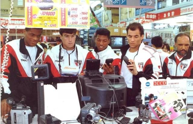 Ex-jogadores São Paulo Japão Mundial 1992 (Foto: Arquivo Histórico/São Paulo FC)