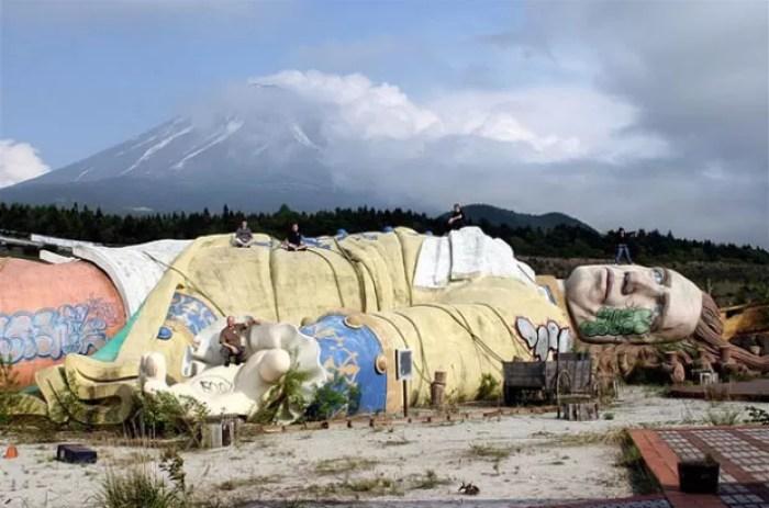 Parque As Viagens de Gulliver, em Kawaguchi, no Japão
