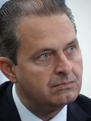 Presidente nacional do PSB, Eduardo Campos, em evento de saúde em Olinda (Foto: Luna Markman/ G1)