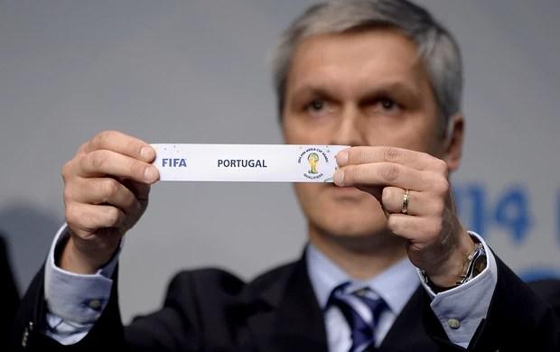 sorteio Copa do Mundo Portugal (Foto: AFP)