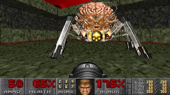 The Ultimate Doom trazia um pouco mais de ação em um quarto capítulo inédito do game (Foto: Reprodução/Moby Games)