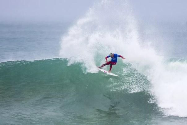 Filipe Toledo em ação na final de J-Bay pelo Circuito Mundial de Surfe (Foto: WSL / Cestari)
