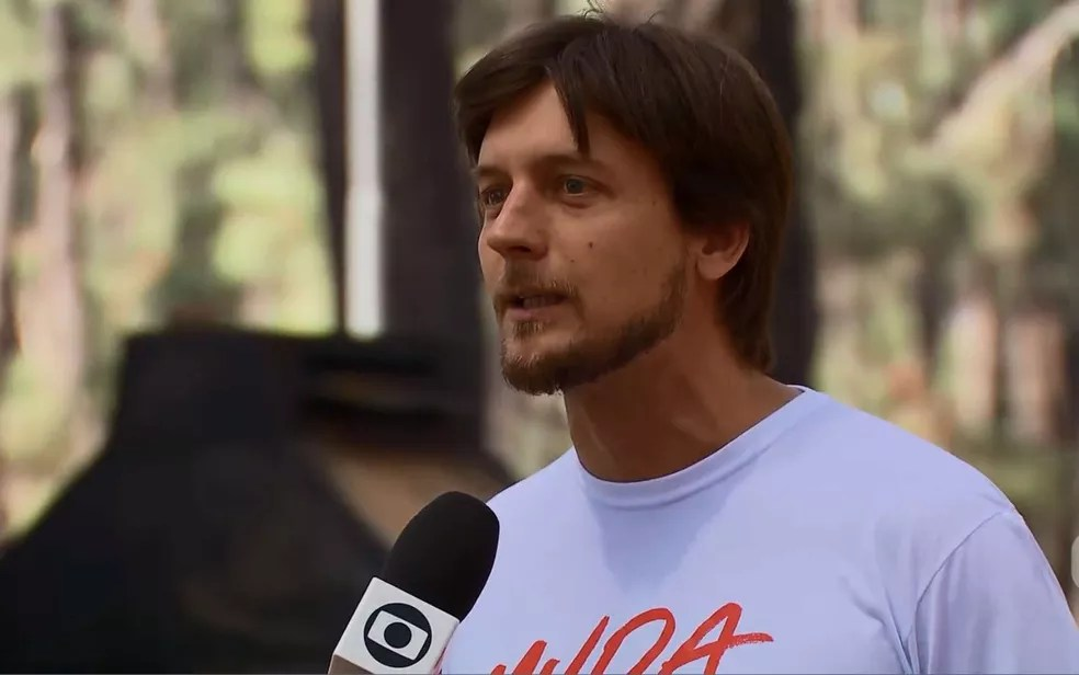 Empresário e candidato ao governo do Distrito Federal, Alexandre Guerra (Novo) (Foto: TV Globo/Reprodução)