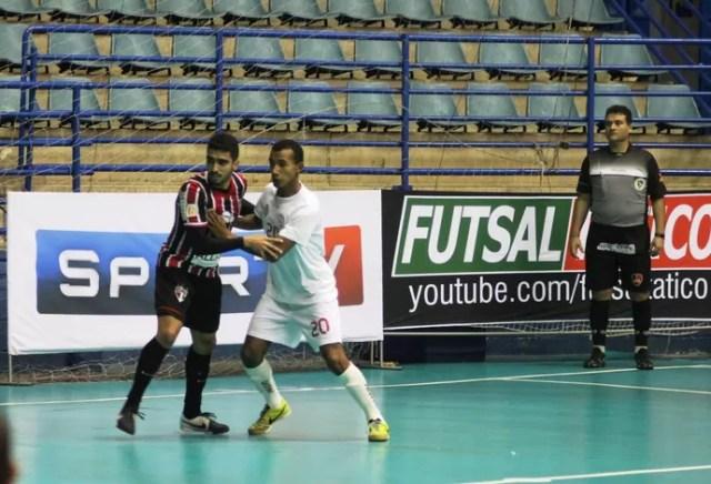São Paulo Indaiatuba Liga Paulista de Futsal (Foto: Gilberto Santos/LPF)