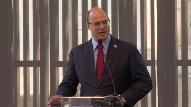 Governador do Rj, Wilson Witzel — Foto: Reprodução/ TV Globo