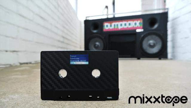 Mixxtape tem Bluetooth e funciona em toca-fitas (Foto: Reprodução/Kickstarter)