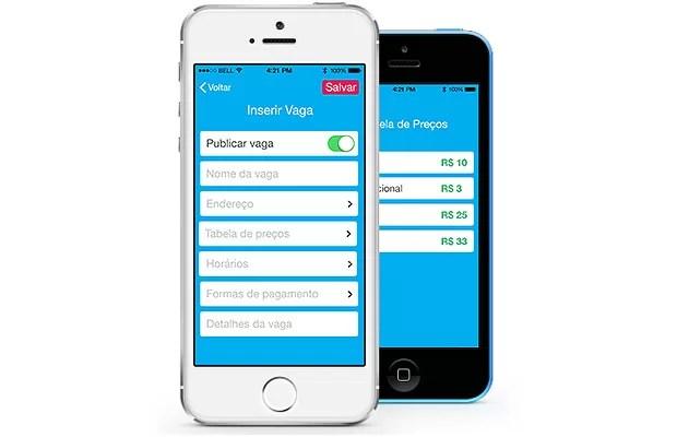 Ezpark: aplicativo auxilia a encontrar vagas para estacionar (Foto: Reprodução)