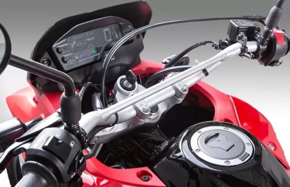 Painel da Honda XRE 300 2017