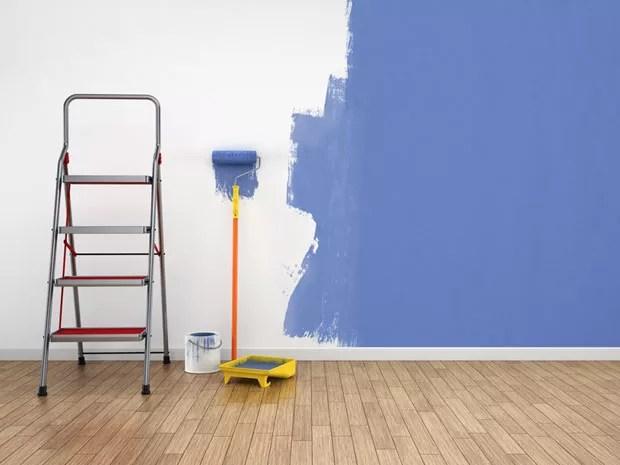 Imóveis pintura_azul (Foto: Shutterstock)