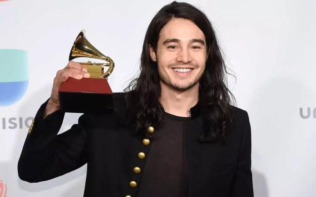Tiago Iorc levou o Grammy Latino de melhor álbum pop contemporâneo em língua portuguesa (Foto: David Becker / Getty Images / AFP Photo)