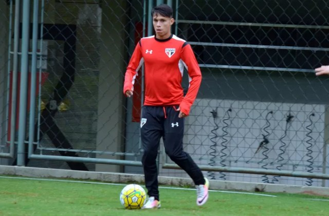 Luiz Araújo São Paulo (Foto: Érico Leonan/saopaulofc.net)